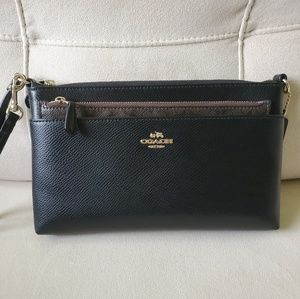Authentic Coach Wristlet with Removable Insert